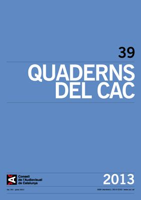 Resultado de imagen de Quaderns del CAC